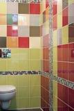 片段空间简单的洗手间 免版税图库摄影