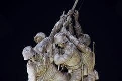 片段Iwo Jima纪念碑 图库摄影