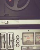 片盘录音机减速火箭的micrphone hd照片 免版税图库摄影