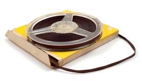 片盘磁性塑料磁带 免版税库存图片