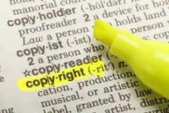 版权聚焦 免版税图库摄影