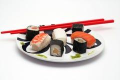牌照寿司 免版税库存图片