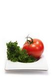 牌照蔬菜 库存照片