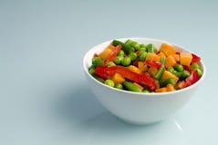 牌照蔬菜 图库摄影