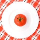 牌照蕃茄 库存照片