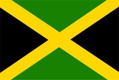 牙买加旗子传染媒介 牙买加旗子的例证 库存例证