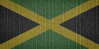 牙买加旗子 库存图片