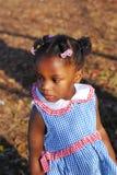 牙买加的女孩 免版税图库摄影