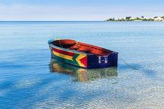 牙买加的小船 免版税图库摄影