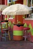 牙买加的小餐馆 图库摄影
