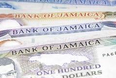 牙买加货币 图库摄影
