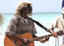 牙买加音乐家 图库摄影