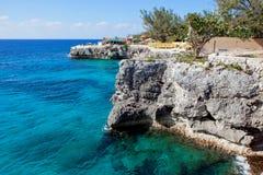 牙买加negril 库存照片