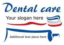 牙刷和浆糊 免版税库存照片