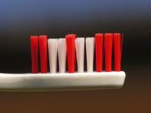 牙刷白色 免版税图库摄影