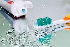 牙刷 图库摄影
