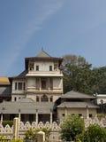 牙的寺庙的新的宫殿 库存图片
