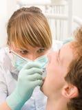 牙科医生年轻人 库存图片