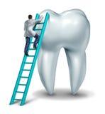 牙科医生核对 向量例证