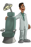 牙科医生 库存例证