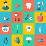 牙科和畸齿矫正术的传染媒介例证 向量例证