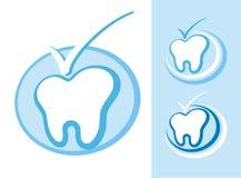 牙科图标 免版税库存图片
