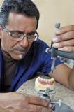 牙科技师 库存照片