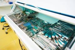 牙科,牙齿治疗 库存照片