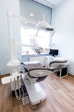 牙科医生办公室s 牙科设备,现代,干净的内部 库存图片