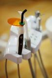 牙齿仪器 库存照片