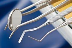 牙齿仪器 库存图片