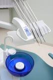 牙齿仪器 图库摄影
