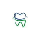 牙齿传染媒介商标 免版税库存图片