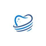 牙齿传染媒介商标 免版税库存照片