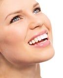 牙齿保护妇女 免版税图库摄影