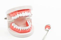 牙齿保护概念 免版税库存图片