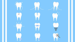 牙齿保护牙汇集象传染媒介 免版税库存照片