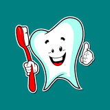 牙齿保护 库存照片