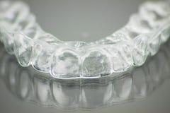 牙齿假肢的牙齿模子 免版税库存图片