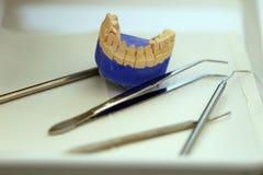 牙齿办公室内部 免版税库存图片