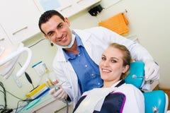 牙齿办公室 免版税库存图片