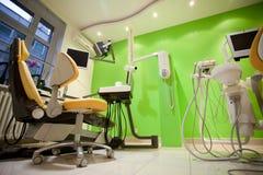 牙齿工作室 免版税库存图片