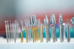 牙齿工具 免版税库存照片