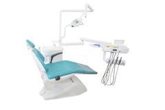 牙齿椅子 免版税库存图片