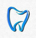 牙齿牙象传染媒介 免版税库存图片