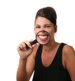 牙齿的核对 免版税库存图片