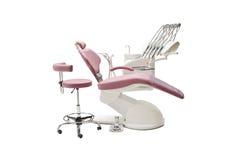 牙齿的椅子 免版税库存照片