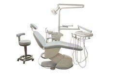 牙齿的椅子 图库摄影
