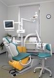 牙齿的椅子 免版税库存图片