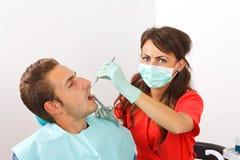 牙齿麻醉 库存图片
